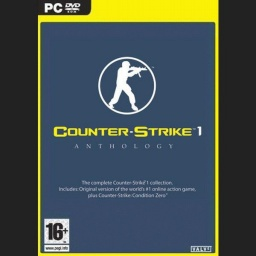 <center>Counter Strike 1.6 Anthology DVD